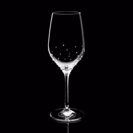 Gläser mit Swaroskvi Kristallen (2er Set) NOVOLINE Weinglas