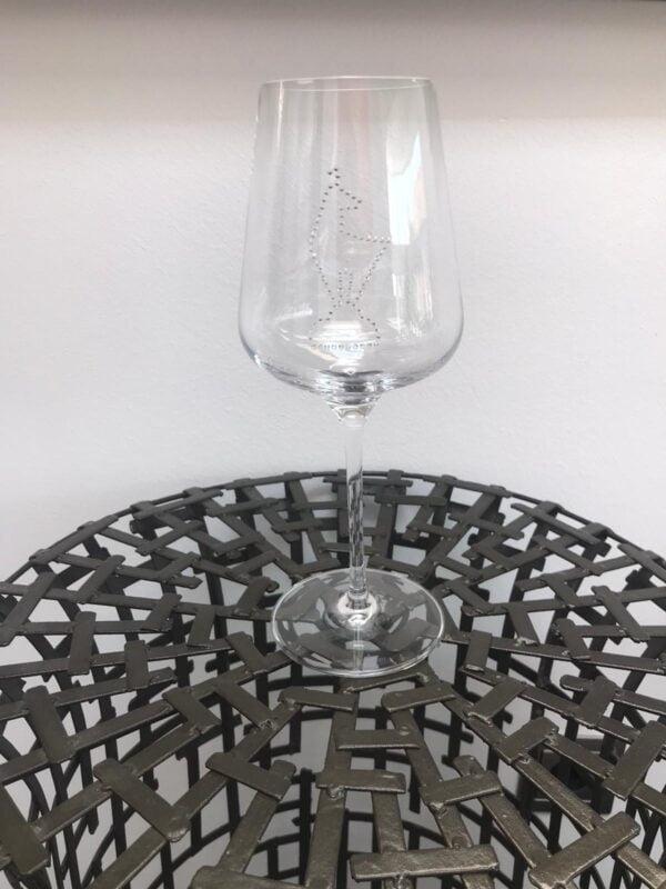Gläser mit Swarovski Kristallen (1 Glas) Novoline Kitz