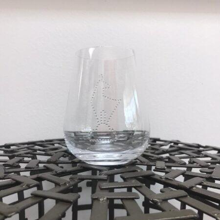 Gläser mit Swarovski Kristallen (1 Glas) NOVOLINE - Kitz Wasserglas
